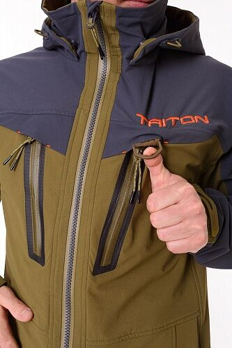 "Костюм ""CRAFT DUO"" (SoftShell APEX, Хаки, Серый) TRITON"